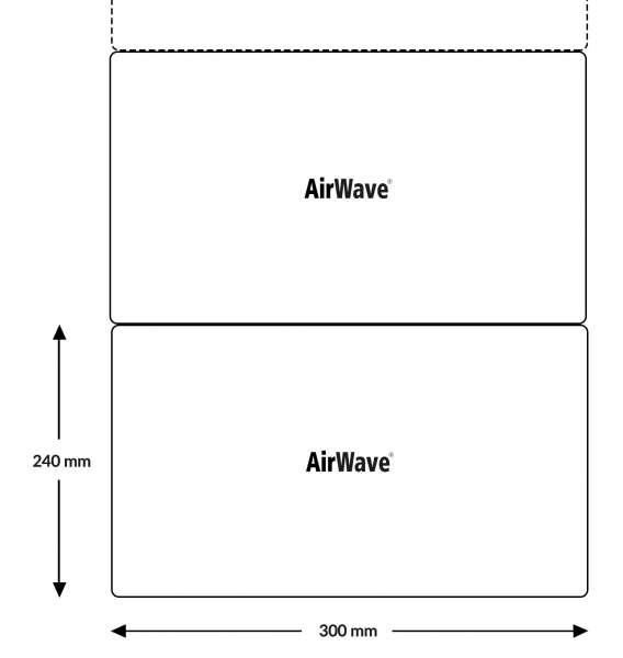 AirWave ECO Typ 7.5 Polsterkette