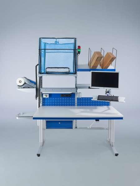 Packtisch Komplettsystem mit AirWave1