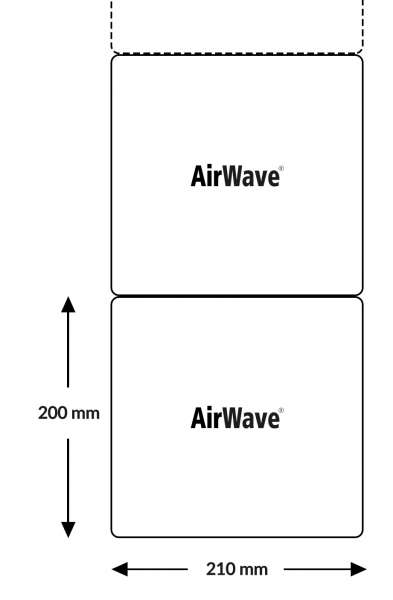 AirWave Super ECO Typ 7.3 Polsterkette